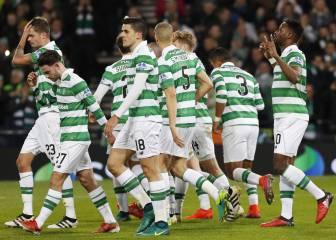 Tom Rogic da el triunfo al Celtic en el último minuto