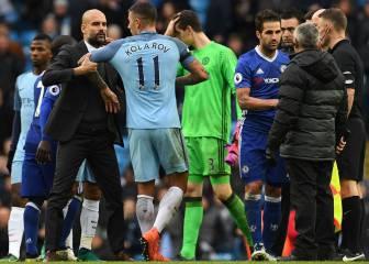Guardiola no saludó a Cesc