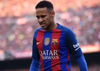Neymar vio la quinta amarilla y no jugará ante Osasuna