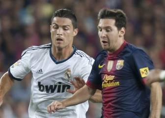 Cristiano 16 goles y Messi 15 en sus enfrentamientos directos