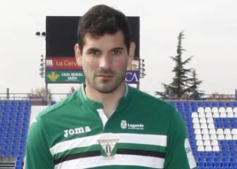 El Leganés esconde sus penas con el debut de Herrerín