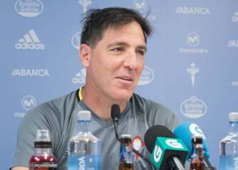 Berizzo: 'Víctor ha escogido un sistema que sienta bien al Betis'