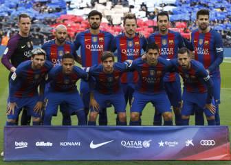 1x1 del Barça: Decepciona Messi, brillan Busquets e Iniesta