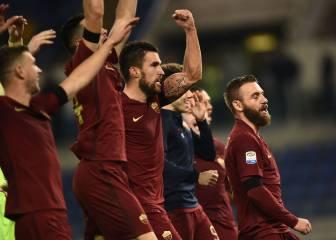 Los errores del Lazio le regalan el derbi al Roma