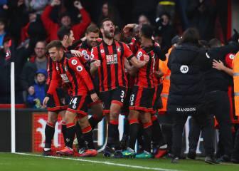 El Bournemouth arma un lío: del 1-3 en el 63' a la remontada
