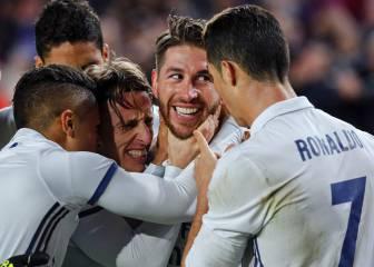 Sergio Ramos; un gol, 97% de acierto en el pase y ni una falta