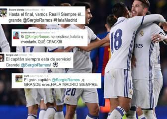 El madridismo jalea a Ramos: