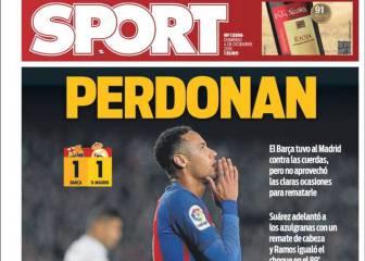 Unanimidad en la prensa de Barcelona: