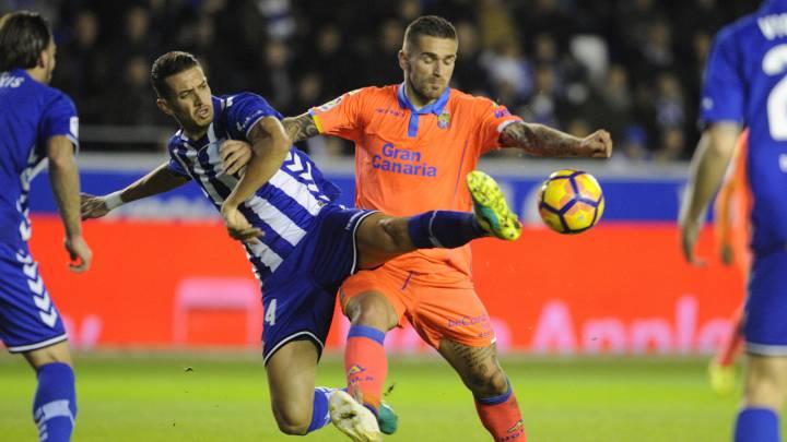 Livaja iguala el gol de Alexis y acerca a Las Palmas a Europa