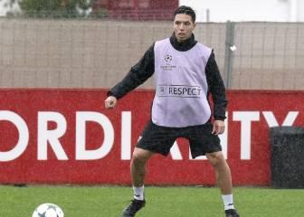 Nasri ya está recuperado; Sergio Escudero, casi