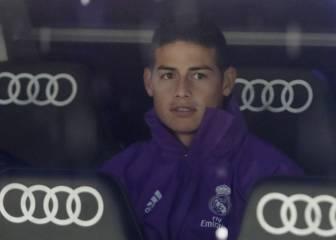 Zidane sentencia a James
