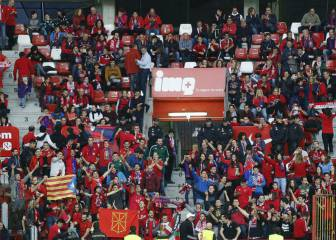 Tres detenidos por agresión a un aficionado de Osasuna