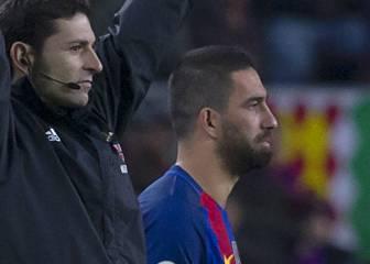 Arda terminó como el señalado del Clásico en el Barça