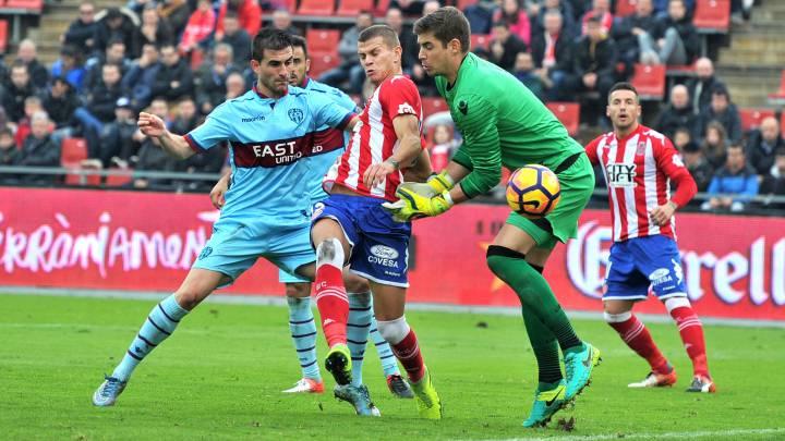 El Girona supera al Levante y pone emoción a la categoría