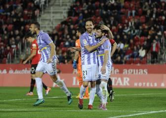 La tremenda efectividad del Valladolid castiga al Mallorca