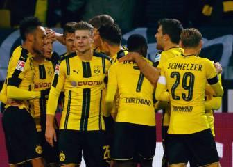 El Borussia Dortmund llega con Aubameyang y Reus a tope