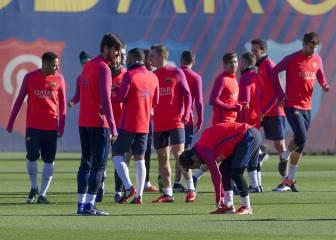 Neymar y Piqué, ausentes; Aleñà y Cardona, con el primer equipo