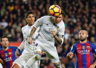 Sergio Ramos está en números de su mejor registro goleador