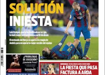 El gol de Ramos no desanima a la prensa de Barcelona