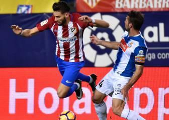 Víctor Sánchez corre peligro de perderse el derbi por sanción