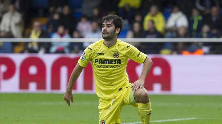Manu Trigueros, durante un encuentro del Villarreal.