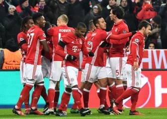 Bayern-Atlético de Madrid en imágenes