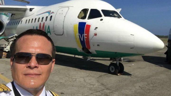 Miguel Quiroga, piloto del vuelo del Chapecoense.