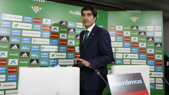 Ángel Haro, presidente del Betis