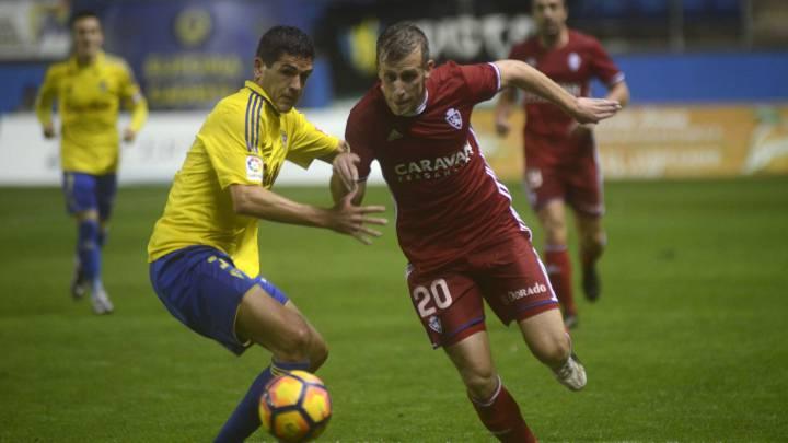 Cádiz vs Zaragoza