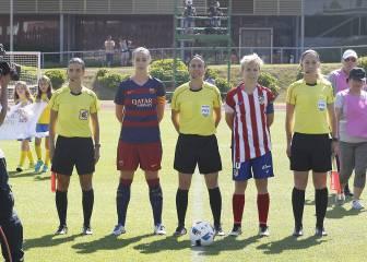El 'Clásico' femenino se juega en el Vicente Calderón