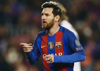 Messi, a un gol del récord de Cristiano en Champions