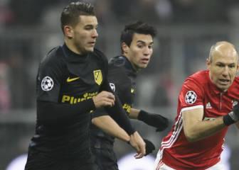Lucas Hernández se doctoró en Múnich secando a Robben