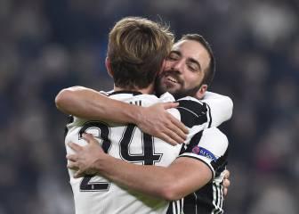 Higuaín y Rugani rubrican el primer puesto de la Juventus