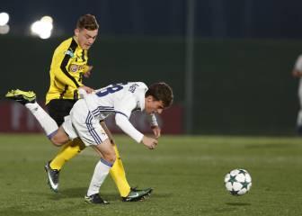 Dos graves errores de Luca Zidane condenan al Madrid