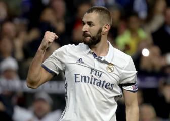 Benzema supera a Di Stéfano con 50 goles en Champions