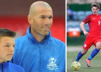El primo de Gerrard, la perla de Inglaterra premiada por Zidane