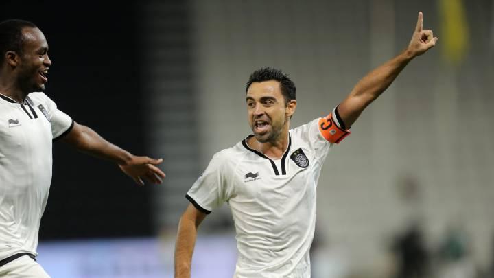 El Al Sadd de Xavi golea (5-0) en el Clásico qatarí a Laudrup
