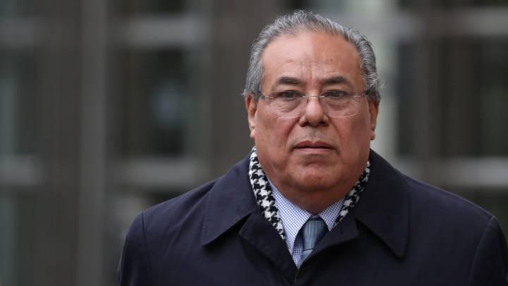 El exadministrador del fútbol nicaragüense y oficial de desarrollo de la FIFA, Julio Rocha López.