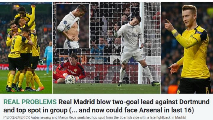 La prensa mundial teme al Madrid a la vez que se burla de ellos por no ser primeros.