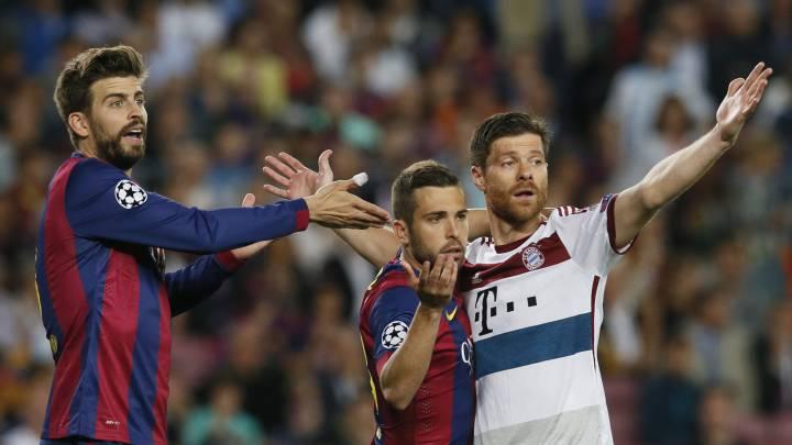 Bayern-Barça y Madrid-Arsenal, duelos con más probabilidades