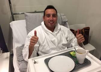 Cazorla ya se ha operado del tendón: baja para tres meses