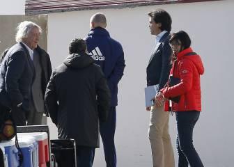 Layhoon y el agente italiano Pastorello, en Paterna