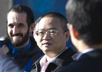 Chen Yansheng se da un baño de masas en Sant Adrià
