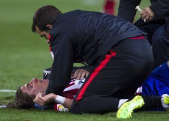 El Atlético pierde a Filipe Luis ante Villarreal y Las Palmas