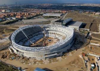 El Atlético de Madrid bautizará hoy al fin su nuevo estadio