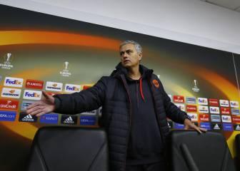 Mourinho 'llora' por el frío de Ucrania y los horarios Premier