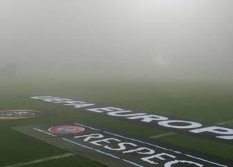 Aplazado hasta este viernes el Sassuolo-Genk por la niebla
