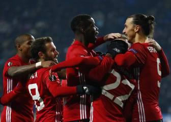 El United pasa segundo en UEL tras vencer al modesto Zorya