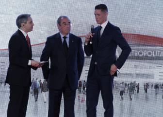 La presentación del nuevo nombre del estadio y el escudo del Atleti