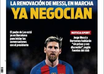 Empieza el otro partido de Messi